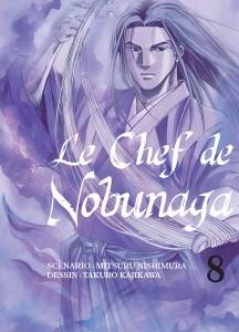 Jaquette Le Chef de Nobunaga T08