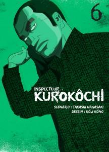 Jaquette Inspecteur Kurokochi T06 PRESSE