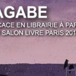 Nagabe, l'auteur de L'Enfant et Le Maudit, en dédicaces à Livre Paris et à Lyon.