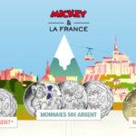 Les pièces Mickey de la Monnaie de Paris sont disponibles