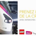 LEGO dépose ses briques dans les trains Intercités