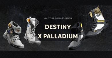 Palladium lance des chaussures Destiny officielles