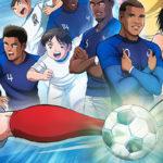 La Fédération Française de Football annonce un partenariat de taille avec Captain Tsubasa