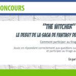 [Concours] The Witcher, le tome 1 à gagner en partenariat avec les éditions Bragelonne