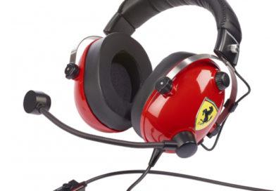 Le casque T.Racing Scuderia Ferrari Edition de Thrustmaster adopte le DTS pour une immersion totale