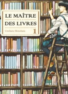 Jaquette Le Maitre des livres T01