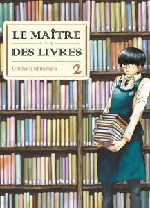Jaquette Le Maitre des livres T02