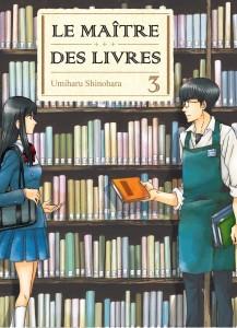 Jaquette Le Maitre des livres T03