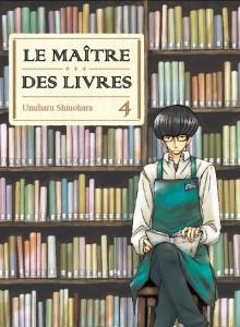 Jaquette Le Maitre des livres T04