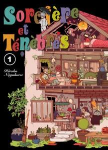 Jaquette Sorciere et Tenebres T01 PRESSE
