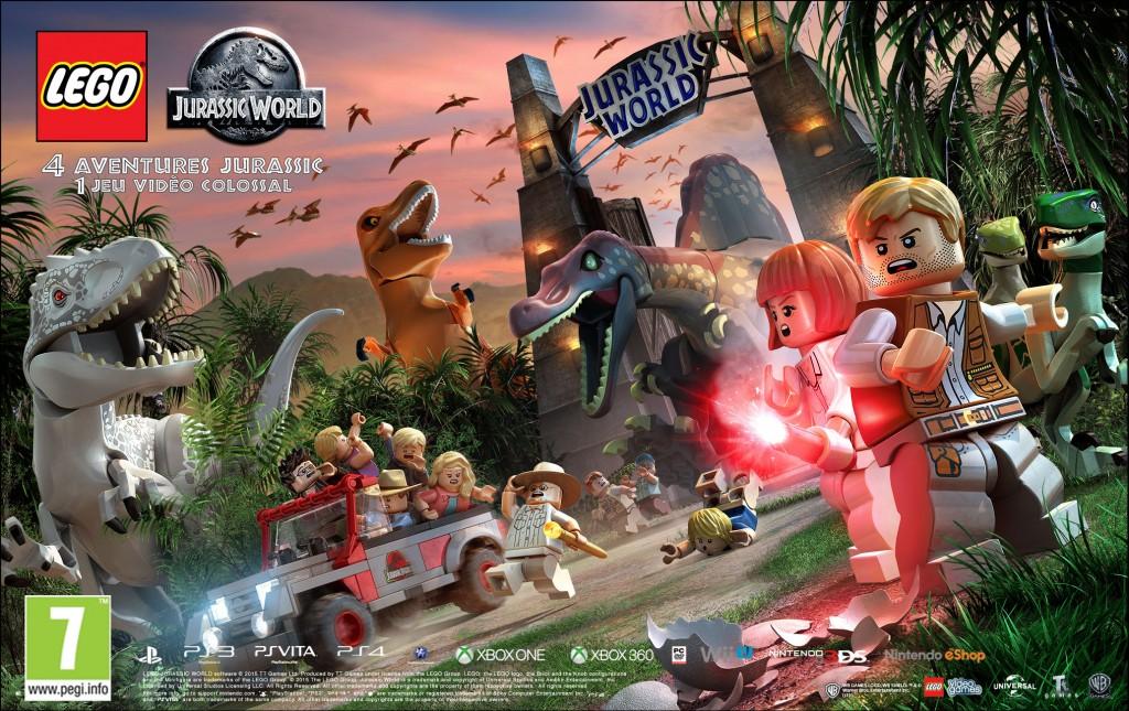 LEGO_Jurassic_World Poster2 Gate