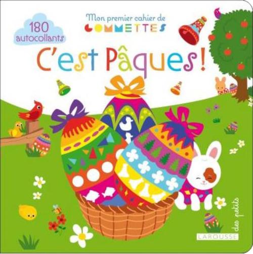 Mon premier cahier de gommettes, c'est Pâques !