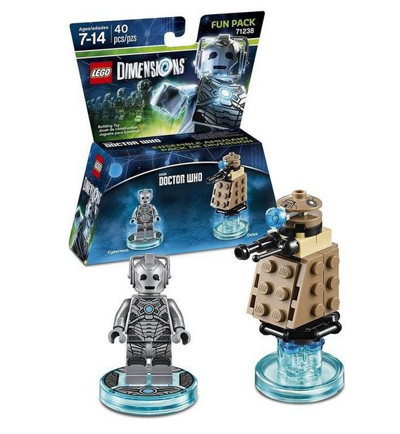 LEGO Dimensions Doctor Who Cyberman