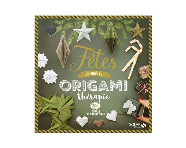 Fêtes Origami thérapie