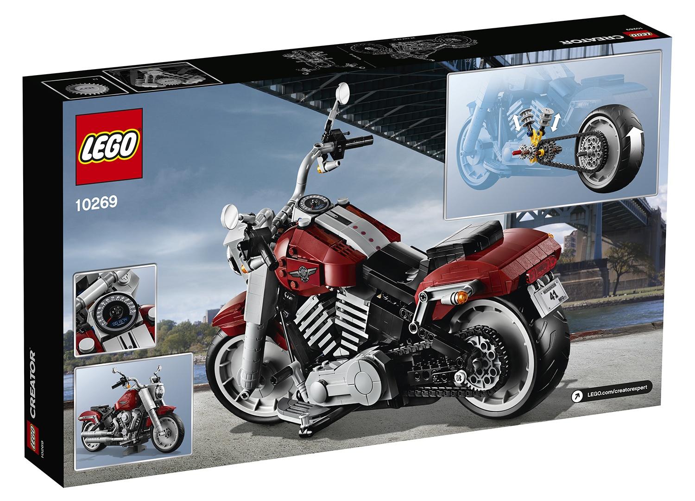 LEGO et Harley-Davidson s'associent pour sortir la moto Fat