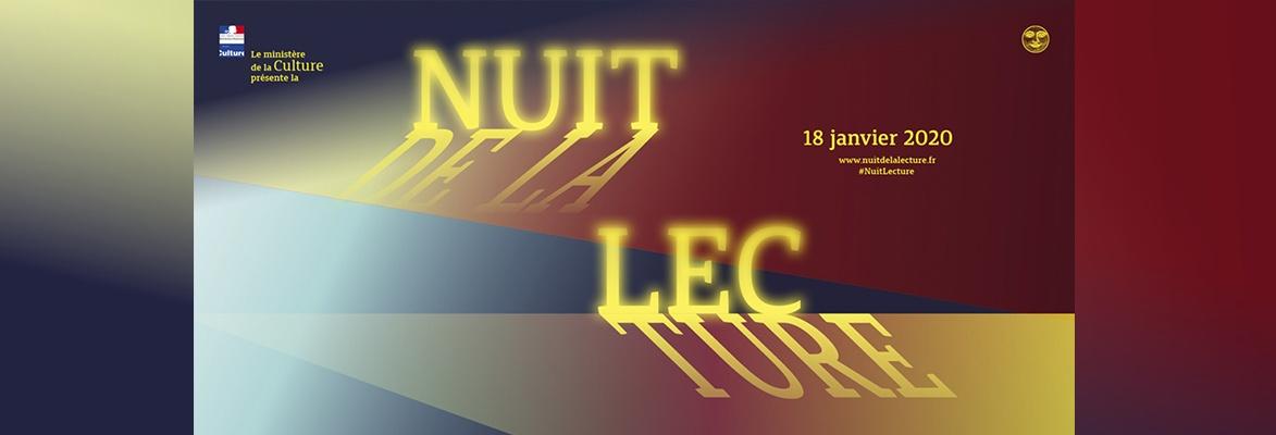 Quatrième édition de la Nuit de la lecture, samedi 18 janvier 2020