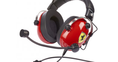 Le casque T.Racing Scuderia Ferrari Edition de Thrustmaster adopte le DTS pour une immersion totale
