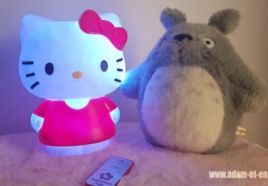 Teknofun sort une jolie lampe Hello Kitty pour Noël