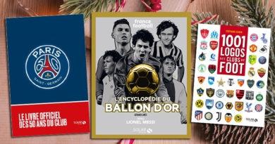 [Idées cadeaux] 3 livres pour les fans de foot !