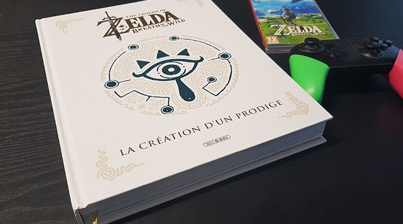 [Idée cadeau] Le livre ultime sur Zelda Breath of The Wild