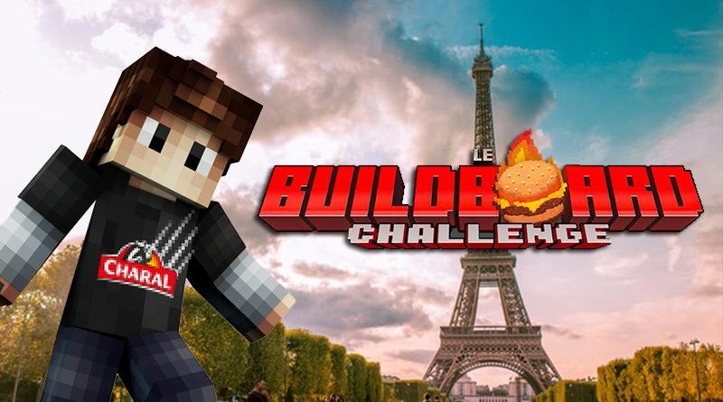Aypierre donne le coup d'envoi d'un challenge créatif imaginé par Charal sur Minecraft